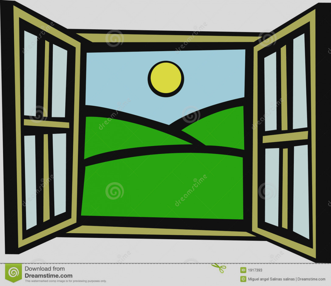 New of window clip. Outside clipart clipart freeuse library