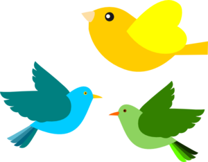 Birds clip art. Outside clipart bird picture freeuse