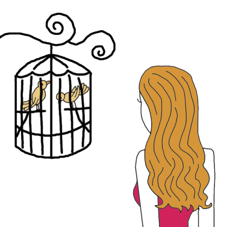 Outside clipart bird. Caged dream dictionary interpret