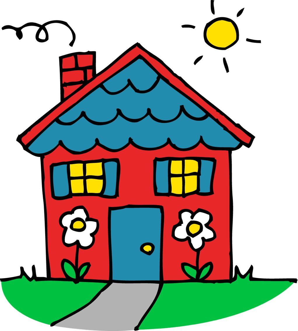 Home house free clip. Outside clipart cute png royalty free download