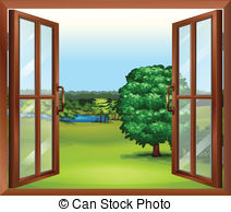 Outside clipart kitchen window. And stock illustrations vector clip art stock