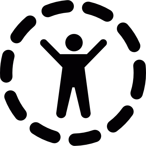 Outstretched arms png. Person with free security