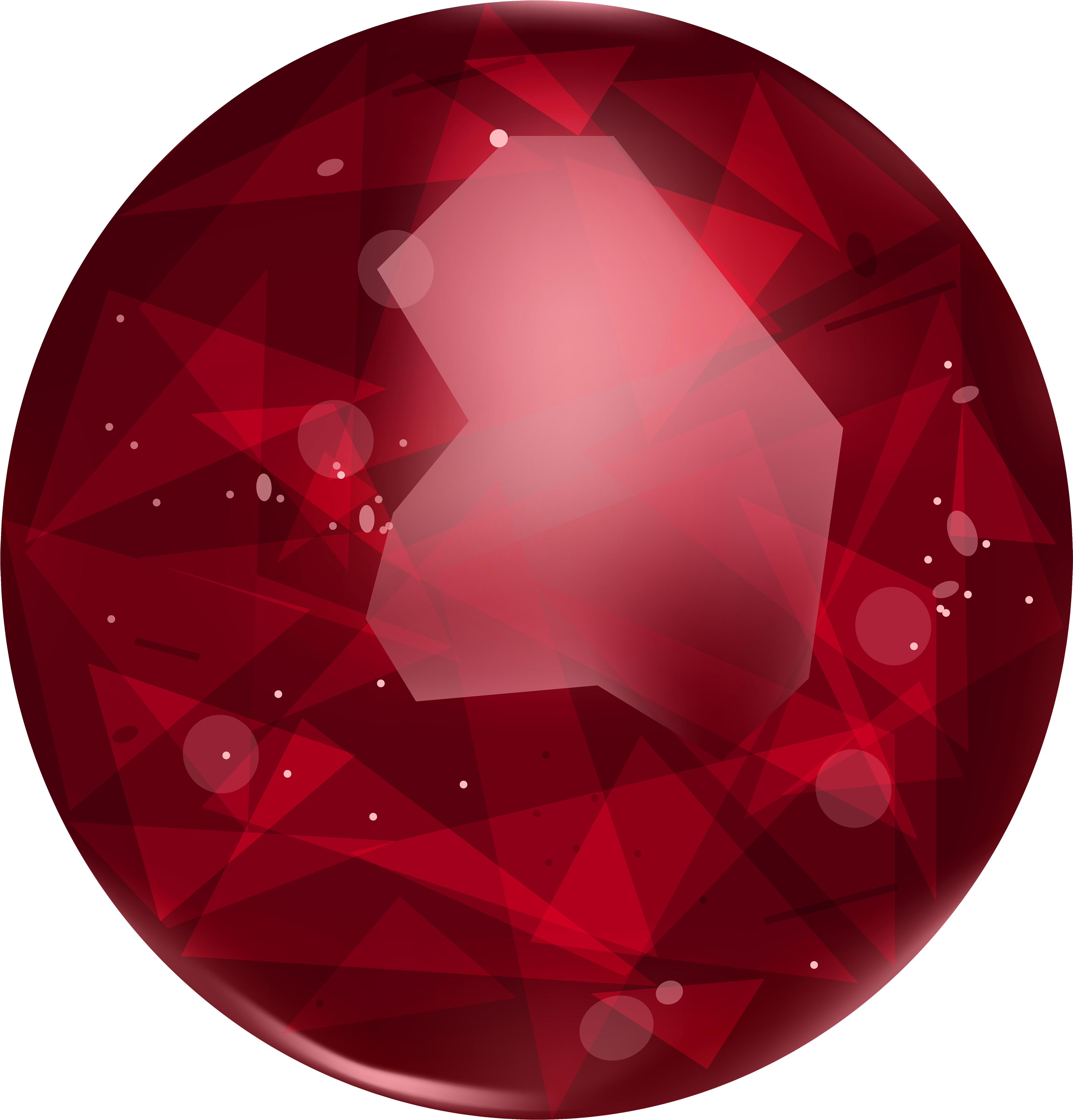 Oval cherry. Hd ruby png clipart