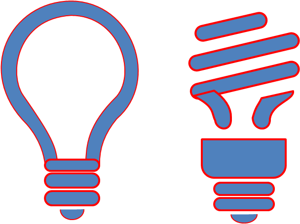 Oval clipart animated shape. Icons powerpointy to light