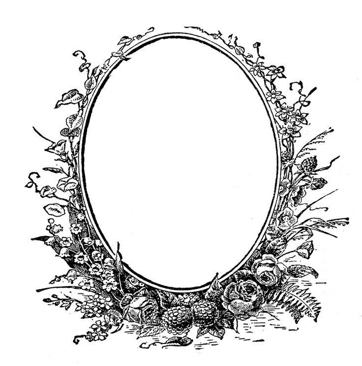 Oval clipart oblong. Best cadres images