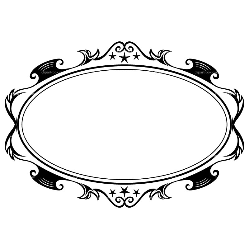 Oval clipart oblong. Designs