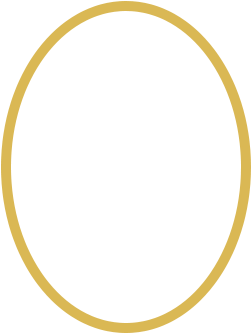 Oval gold frame png. Download hi there start