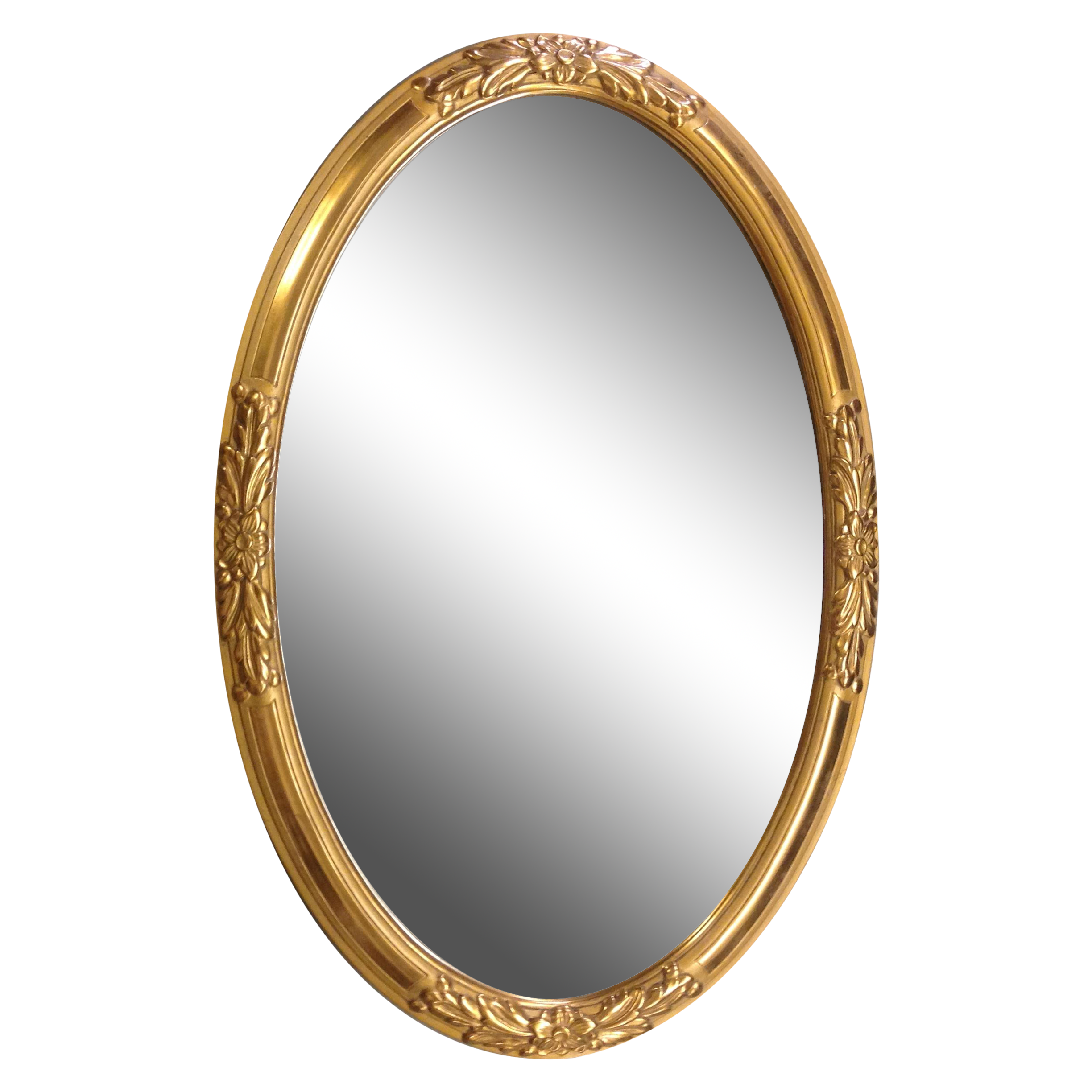 Oval gold frame png. S french wood