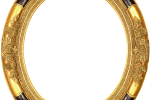 Oval gold frame png. Image related wallpapers