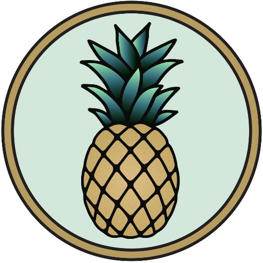 Oval pineapple. Street pineapplemedia twitter
