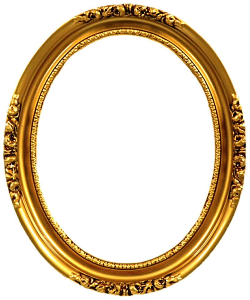 Oval png frame. Gold victorian by jeanicebartzen