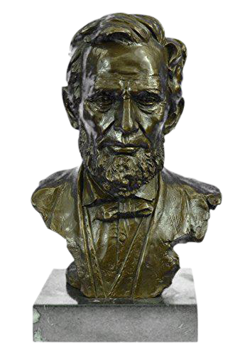 Oval statue base png. President abraham lincoln bronze