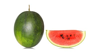 Ovate watermelon. Products tawoos agriculturual systems