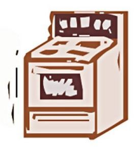 Oven clipart clean oven. Cleaning an with ammonia