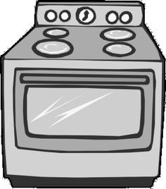 Cookie the big chocolate. Oven clipart coloring page jpg freeuse stock