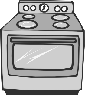 Bw template pinterest paper. Oven clipart cooking range clipart royalty free