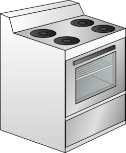 Oven clipart stove. Clip art at clker