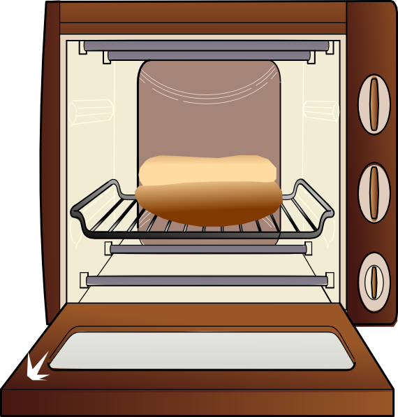 Bun in the clip. Oven clipart clipart transparent download
