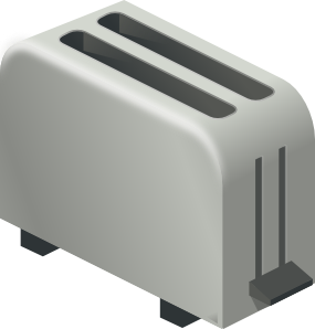 Oven vector toaster. Clip art at clker
