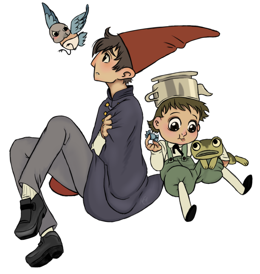 Over the garden wall png. By encyender on deviantart
