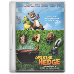 Over the hedge png. Icon movie mega pack