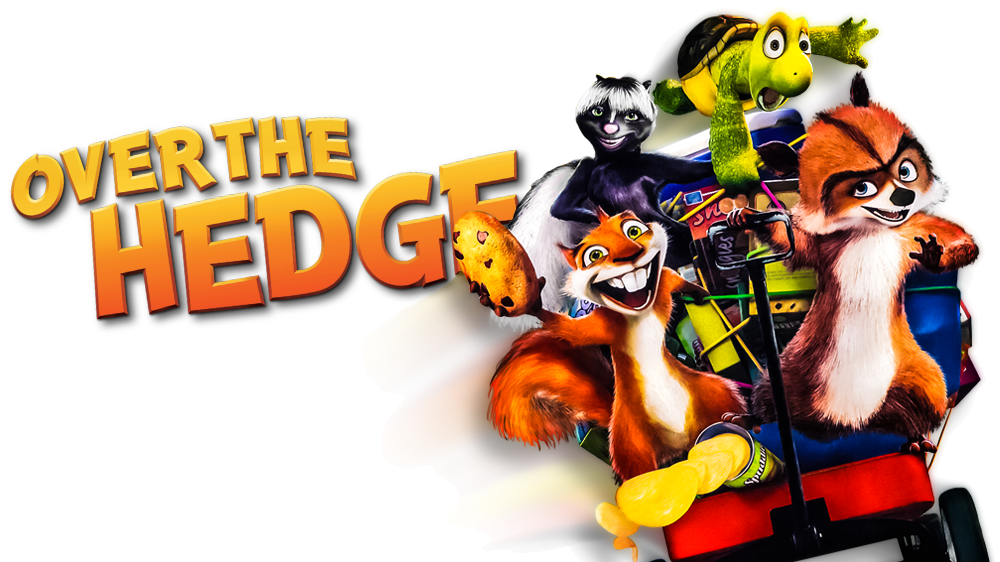Movie fanart tv image. Over the hedge png vector free download