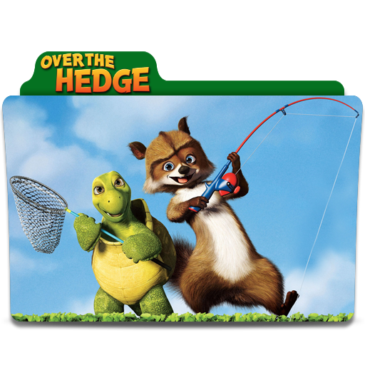 Over the hedge png. Folder icon by sharatj