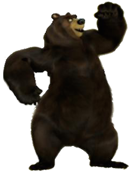 Image vincent bear villains. Over the hedge png picture freeuse