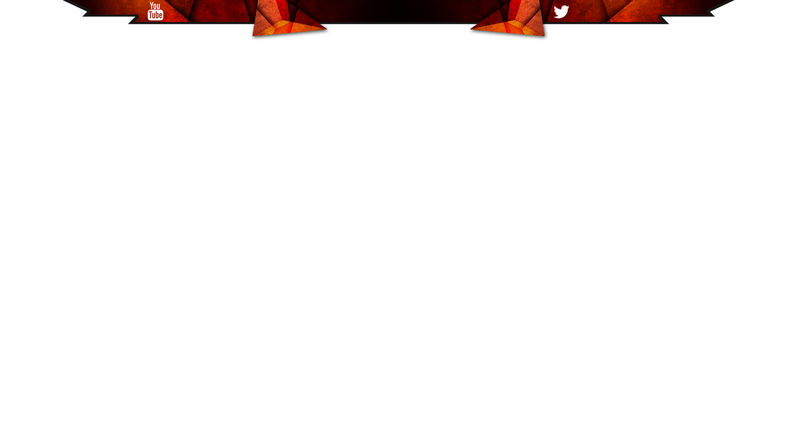 Overlay template png. Twitch stream dark red