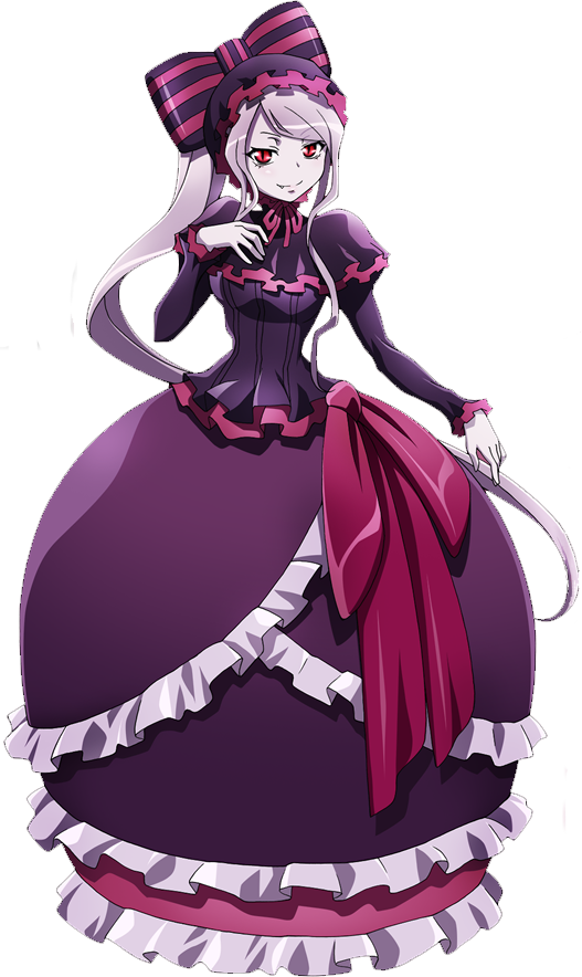Overlord anime png. Shalltear bloodfallen pinterest three