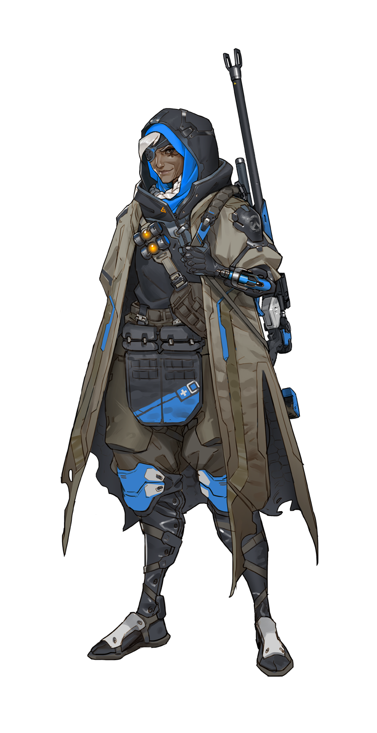 Overwatch character png. Ana blizzard pinterest anapng