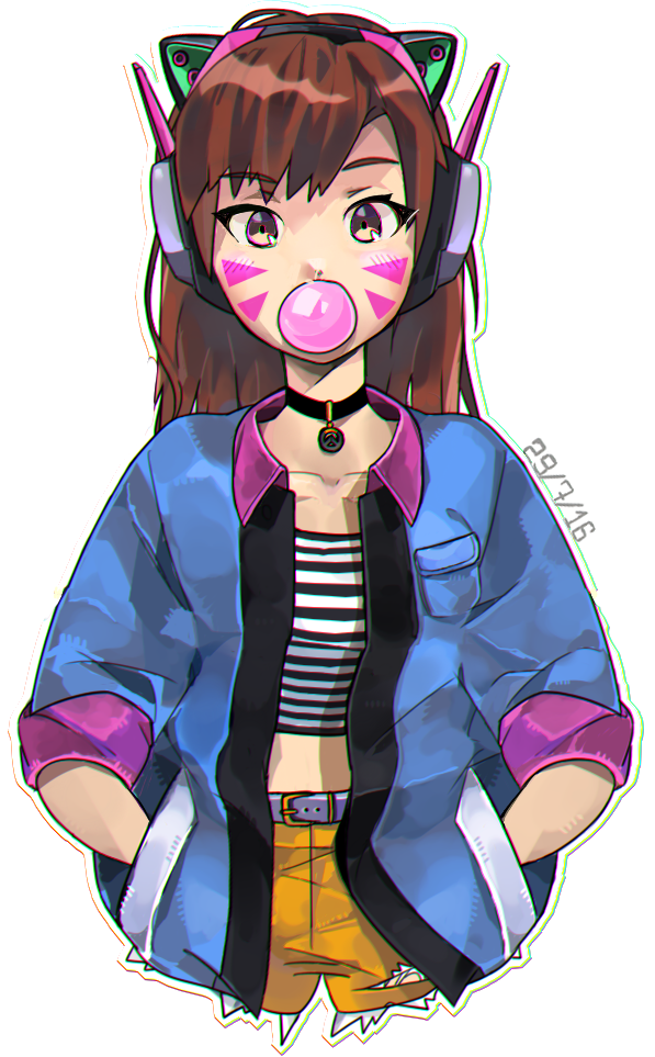 Choker drawing boy. Bubblegum d va pinterest