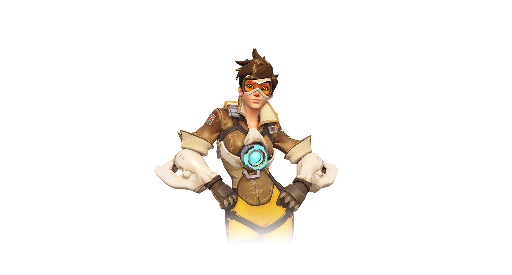 Goggles transparent tracer. Overwatch characters background album