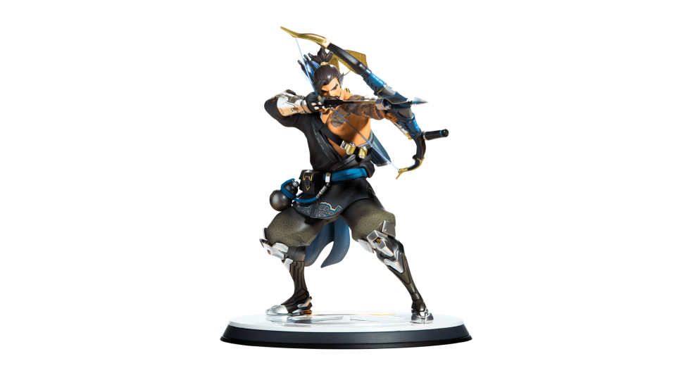 Overwatch hanzo png. Statue blizzard gear store
