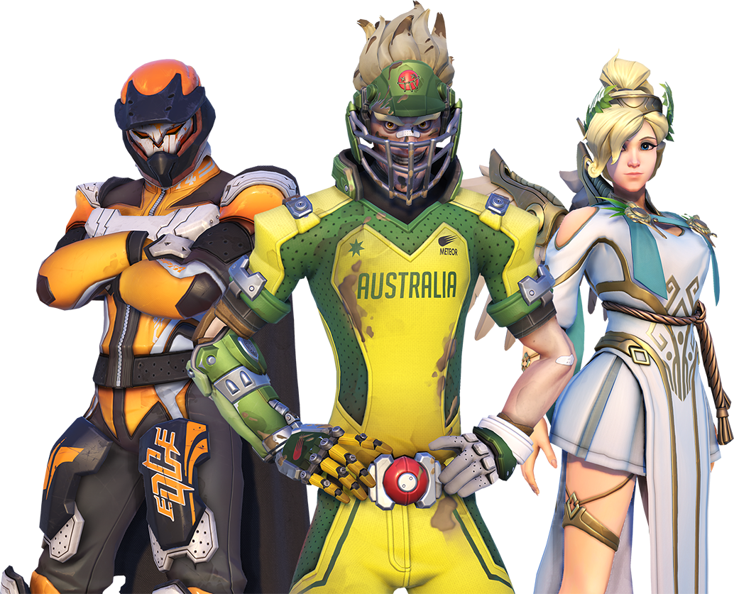 Overwatch lucio ball png. Summer games trailer and