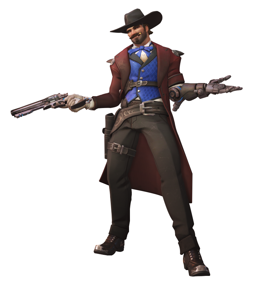 overwatch mccree png