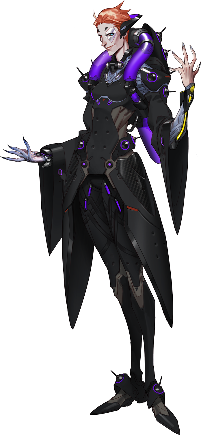 Moira transparent comic