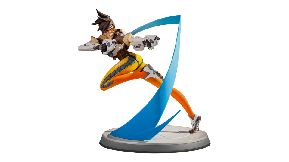 Overwatch tracer png. Statue blizzard gear store