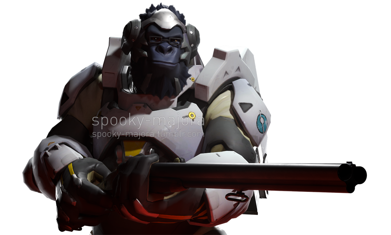 Winston hd png. In the game early