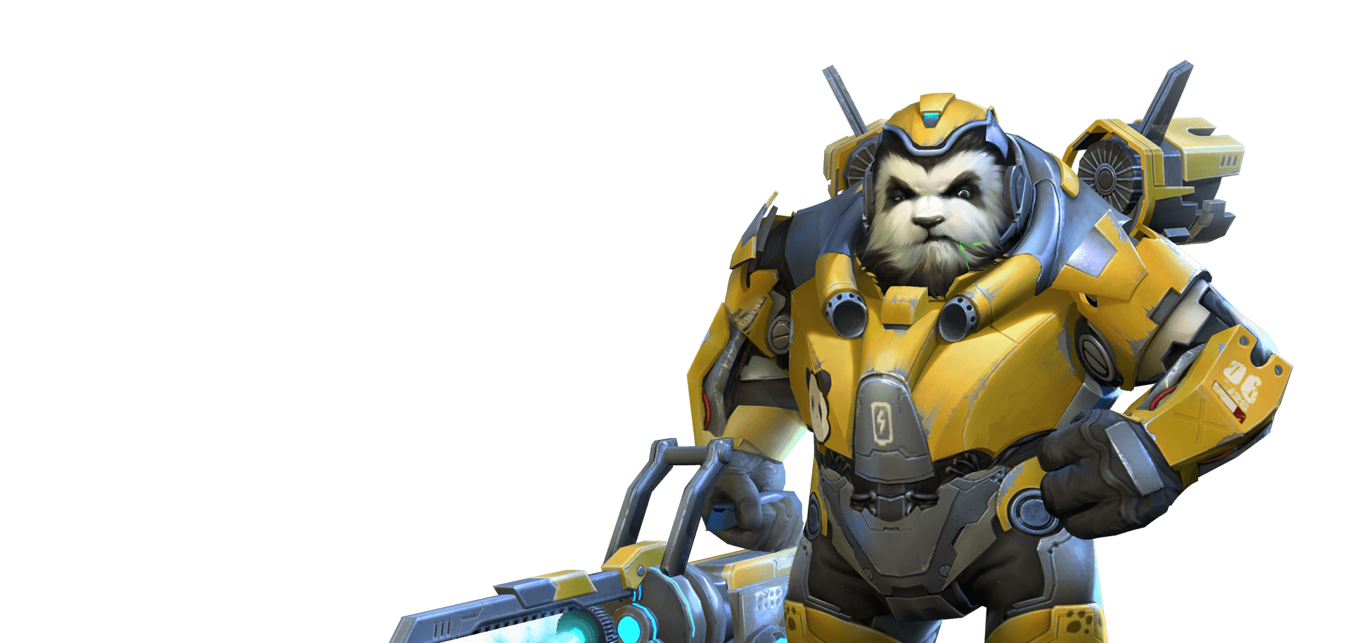 Overwatch winston png. Chinese clone has some