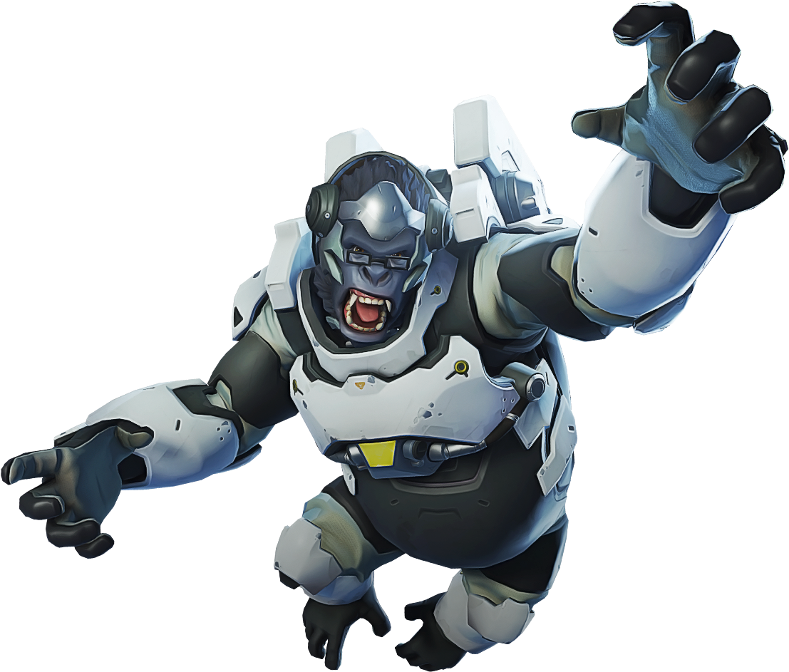 Overwatch winston png. Download hd picture black