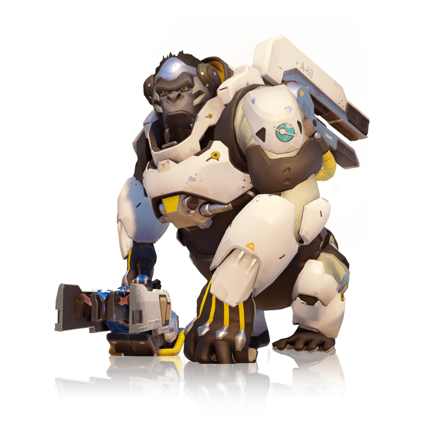 Overwatch winston png. Full body transparent stickpng