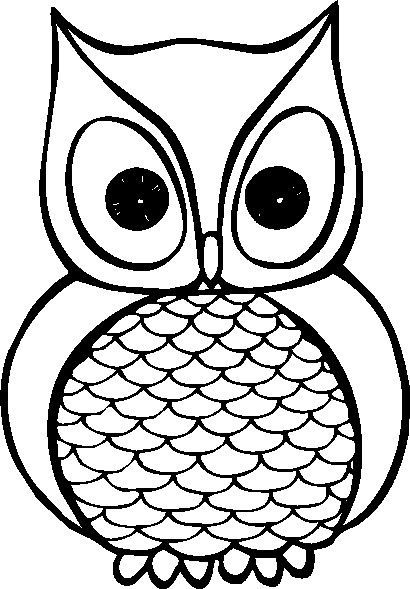 Owl clip art black and white. Snowy clipart best options