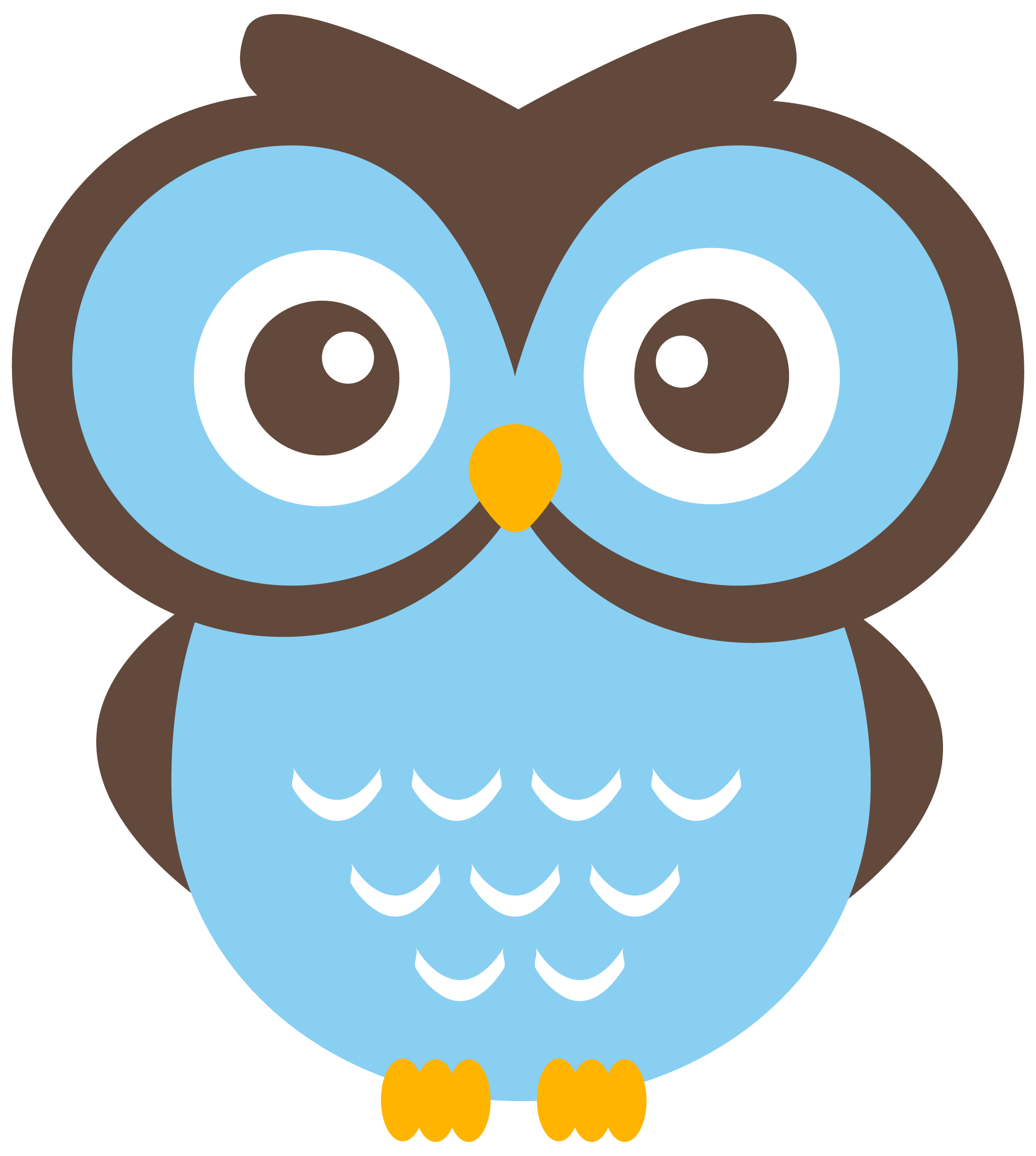 Fathers clipart owl. Free cartoon image clip