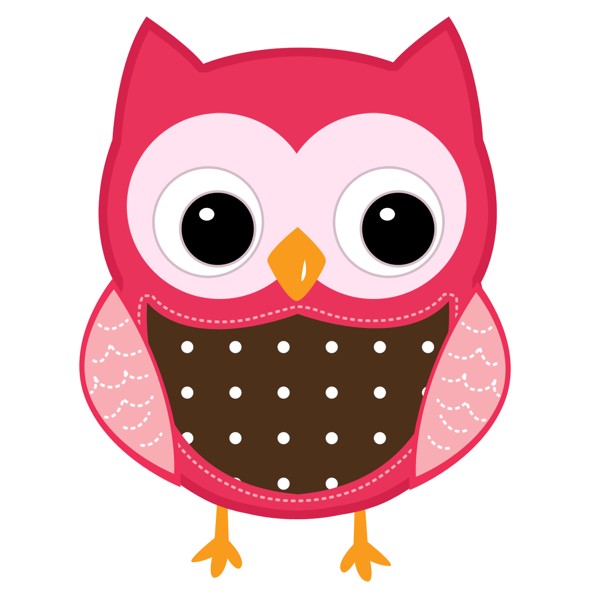 Owl clip art cartoon. Face clipart panda free