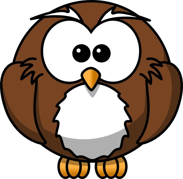 Owl clip art cartoon. Free vector in open