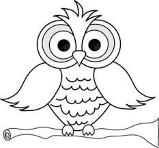 Image result for pages. Owl clip art coloring page svg freeuse stock
