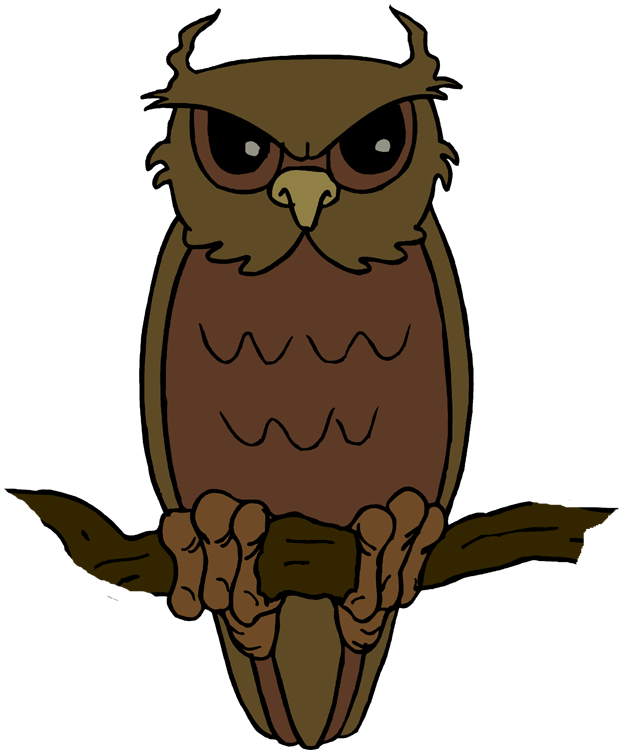 Owl clip art creepy. Free download on clipart