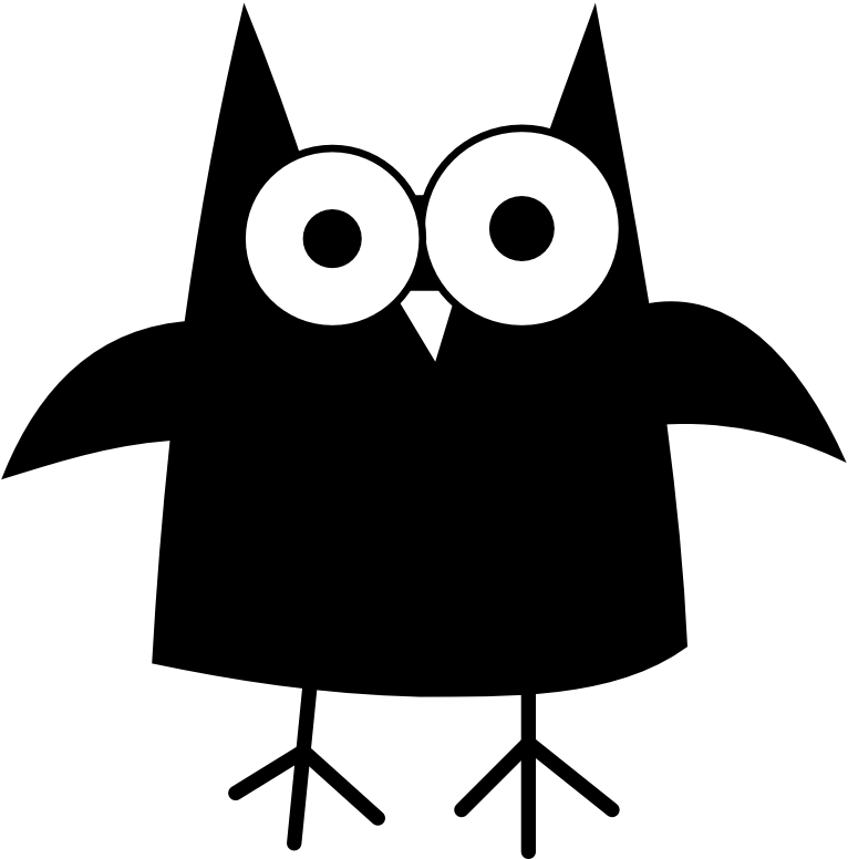 Owl clip art creepy. Free images of halloween