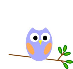 Dreamy blue at clker. Owl clip art owlet clipart royalty free stock